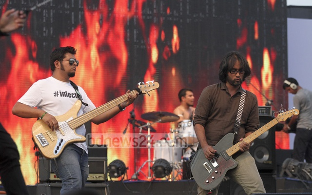 Joy Bangla Concert gets off to an electrifying start
