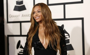 This February 2015 file photo show Beyonce at the 57th annual Grammy Awards in Los Angeles, California. Reuters