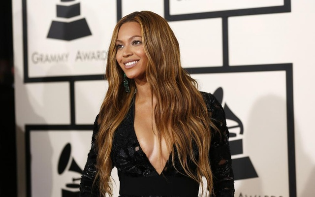 This 2015 photo shows Beyonce at the 57th annual Grammy Awards in Los Angeles, California, US. Reuters