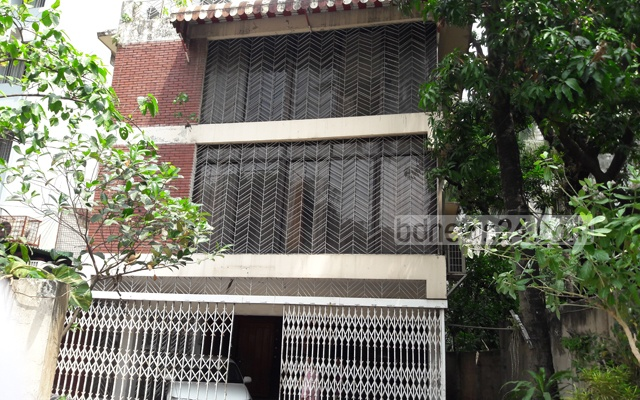 Shafik Rehman was picked up from this building. Photo: Shahidul Islam