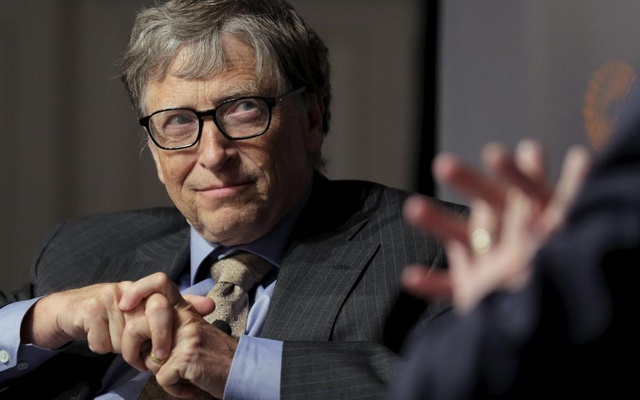 Bill Gates, co-chair of the Bill & Melinda Gates Foundation, speaks during a discussion on innovation hosted by Reuters in Washington, US, April 18, 2016. Reuters