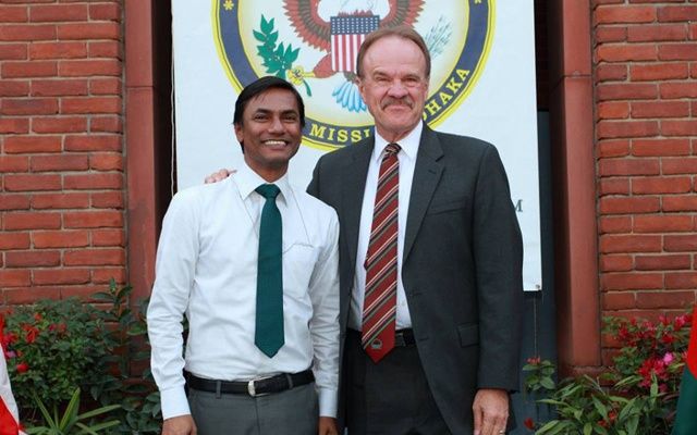 Xulhaz Mannan, a programme officer for the USAID, was an assistant protocol officer at the US embassy in Dhaka.