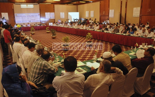 The advisory committee of the National Revenue Board hold its 37thmeet at Dhaka's Sonargaon Hotel on Thursday.