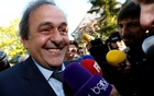UEFA President Michel Platini arrives for a hearing at the Court of Arbitration for Sport (CAS) in an appeal against FIFA's ethics committee's ban, in Lausanne, Switzerland April 29, 2016. Reuters