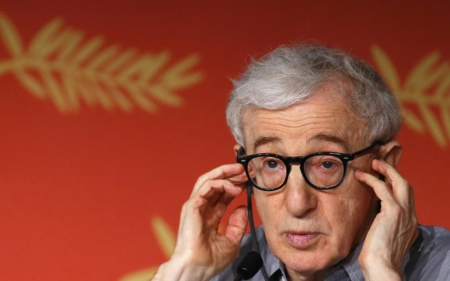 Director Woody Allen attends a news conference for the film