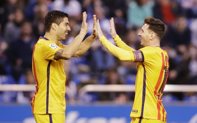 Never thought I would replace Messi as Barcelona's main striker: Suarez