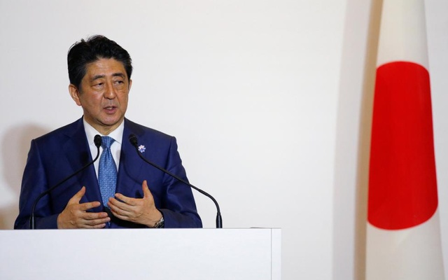 Japanese Prime Minister Shinzo Abe. Reuters File Photo.