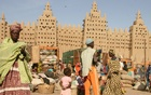 The Great Mosque of Djenné in Mali. Image: Ferdinand Reus via Wikimedia Commons/Climate News Network