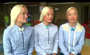 Estonian triplets set to compete in Olympics