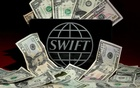 The SWIFT logo is pictured in this photo illustration taken April 26, 2016. Reuters
