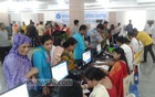 File Photo shows activities during Eid Visa Camp at the Chancery Complex of the Indian High Commission in Dhaka's Baridhara on June 4, 2016.