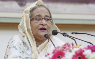 Sheikh Hasina claimed that Khaleda Zia was trying to foment unrest with