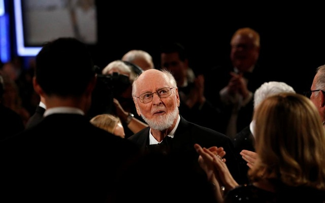 Composer John Williams walks through the audience before accepting the American Film Institute's (AFI) 44th Life Achievement Award at Dolby theatre in Hollywood, California U.S., June 9, 2016. Reuters