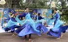 Young Udichi artistes dance on the first day of Asharh, the Bangla month which marks the beginning of the rainy season.