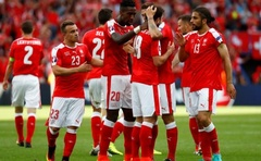 Switzerland on the brink of last 16 after Romania draw
