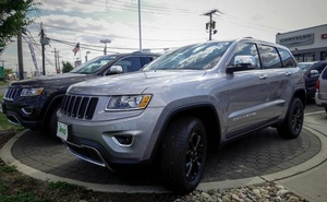 The 2015 Jeep Grand Cherokee is exhibited at a car dealership in Jersey City, New Jersey, U.S. on July 24, 2015. Reuters