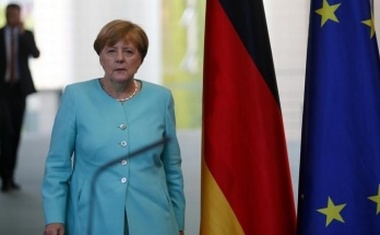 German Chancellor Angela Merkel arrives for a statement in Berlin, Germany, June 24, 2016, after Britain voted to leave the European Union in the EU BREXIT referendum. Reuters