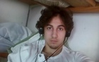 Boston bombing suspect Dzhokhar Tsarnaev is pictured in this file handout photo presented as evidence by the U.S. Attorney's Office in Boston, Massachusetts on March 23, 2015. Reuters