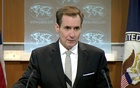 US State Department spokesman John Kirby speaks about a hostage situation at a restaurant in the Bangladeshi capital Dhaka, during a press briefing in Washington DC, US July 1, 2016. Reuters