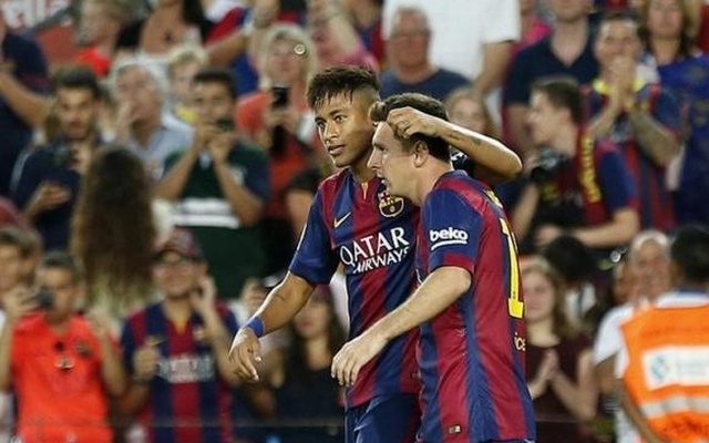 Barcelona defend social media support of 'unfairly treated' Messi