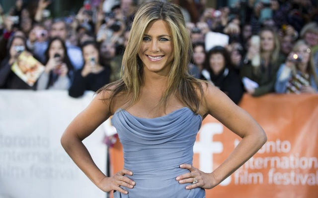 Jennifer Aniston arrives for the