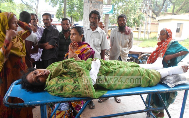 Fifty-year-old Bulu Begum is one of the three victims of the attack early on Sunday.