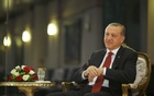 Turkish President Tayyip Erdogan attends an interview with Reuters at the Presidential Palace in Ankara, Turkey, July 21, 2016. Reuters