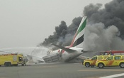 Cabin chaos after Emirates plane crash