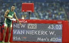 Brilliant Van Niekerk smashes 400m world record