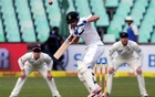 South Africa under pressure as bad light stops play