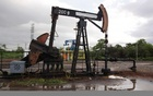 An oil pump is seen in Lagunillas, Venezuela, August 13, 2016. Reuters