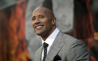 Dwayne Johnson is the world's highest paid actor this year with $64 million in earnings. Reuters