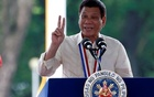 Philippine President Rodrigo Duterte speaks during a National Heroes Day commemoration at the Libingan ng mga Bayani (Heroes' Cemetery) in Taguig city, Metro Manila in the Philippines August 29, 2016. Reuters