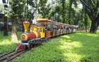 Train ride at Dhaka Children Park a day after Eid. Photo: abdul mannan