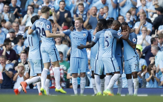 De Bruyne magnificent as City maintain 100 percent record