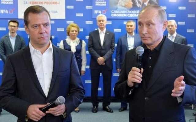 Vladimir Putin's Party wins majority in Russian Parliamentary elections