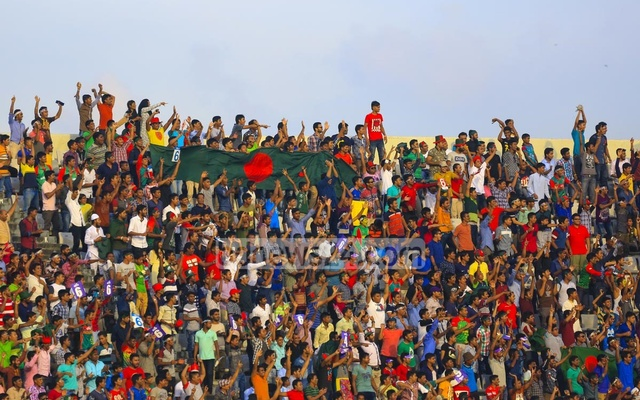 The strokeplay of Tamim Iqbal and Sabbir Rahman had the home crowd on their feet. Photo: muhammad mostafigur rahman