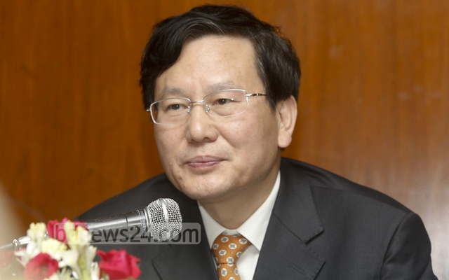 Tuo Zhen, Vice-Minister of the Publicity Department of the Communist Party of China's Central Committee
