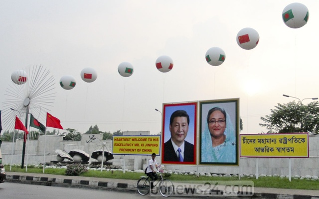 Xi to upgrade ties with Bangladesh