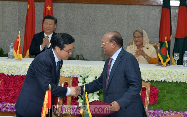 Bangladesh, China firms ink multi-billion deals as Xi ends tour