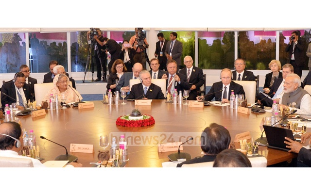 Bangladesh PM places three-point proposal to link BRICS with BIMSTEC