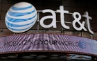 AT&T, which sells wireless phone and broadband services, has already made moves to turn itself into a media powerhouse, buying satellite TV provider DirecTV last year for $48.5 billion. Reuters File photo