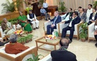 Foreign guests meet PM Hasina with 'songs of praise'