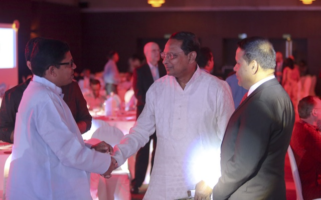 State Minister for ICT Zunaid Ahmed Palak with Information Minister Hasanul Haq Inu