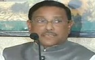 General Secretary Obaidul Quader announced the new names at a media briefing on Tuesday. Photo taken from live TV broadcast.