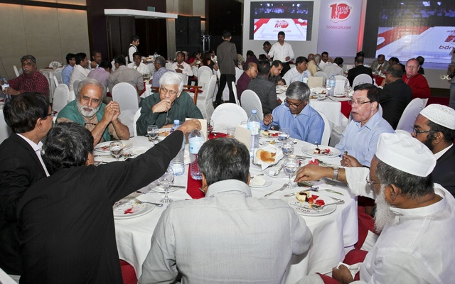 Dhaka University teachers joined to celebrate bdnews24.com's 10th anniversary celebration at a Dhaka hotel on Sunday.