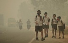 According to a 2016 UNICEF report, almost one in seven children worldwide live in areas with high levels of outdoor air pollution, mostly in South Asia. Reuters file photo