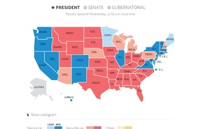 Live: US Presidential Election 2016