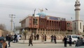 Afghan security forces keep watch in front of a mosque where an explosion happened in Kabul, Afghanistan November 21, 2016. reuters