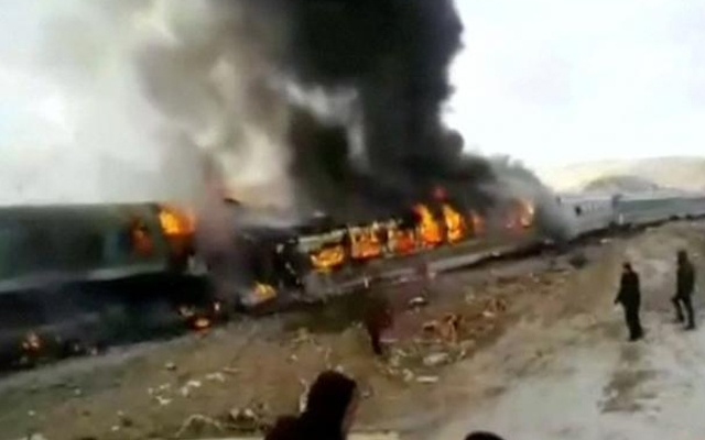 Death toll in train collision increases to 36